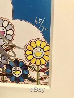 Takashi Murakami-bouquet D'amour Signé / Numéroté, Encadré Professionnellement, J. Balvin