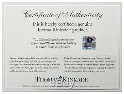 Thomas Kinkade La Toile Enveloppée De Galerie 14 X 14 Toiles (ensemble De 3)