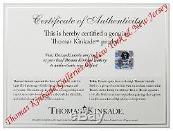 Thomas Kinkade Noël À Biltmore 16 X 31 Galerie Wrapped Toile Printemps Vente