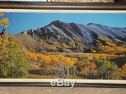 Thomas Mangelsen Rocky Mountain Été Indien Photo Originale 22x68 422/950