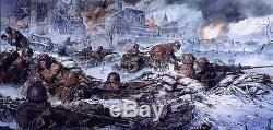 Tiens Jusqu'au Dernier Tour James Dietz Print 110ème Infanterie Et 103ème Ingénieurs