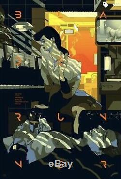 Tomer Hanuka Blade Runner Variant Privé Affiche De La Commission Imprimer Mondo
