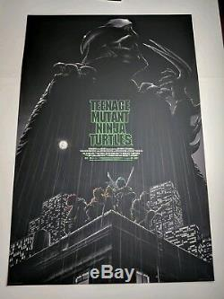 Tortues Ninja Chez Les Adolescentes Matt Ryan Tobin Mondo Affiche Régulière Imprimer Tmnt Art