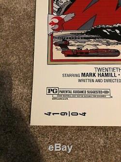Tyler Stout, Ensemble De Trilogie Star Wars Original, Impression Sur Écran Mondo