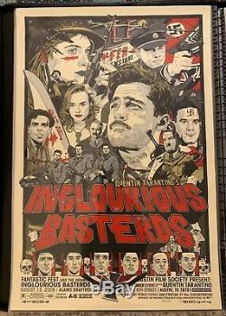 Tyler Stout Inglourious Basterds Mondo D'affiche
