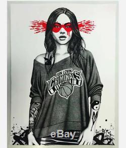 Venez Découvrir Vous-même Impression Rouge Par Fin Dac Édition Limitée De Seulement 19 L'art Du Graffiti
