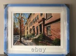 Very Rare Bob Dylan Brooklyn Heights Signed Limited Edition Print (épuisé)