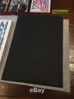 Vna Magazine Presque Presque Presque Numéro 20 Retna Rare # 97/150 Art De La Sérigraphie