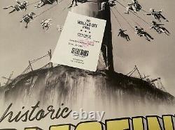 Walled Off Hôtel Banksy Affiche Avec Reçu
